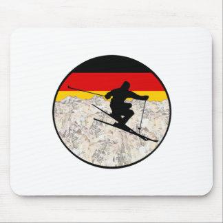 Alfombrilla De Ratón Esquí Alemania