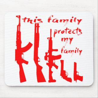 Alfombrilla De Ratón Esta familia protege a mi familia
