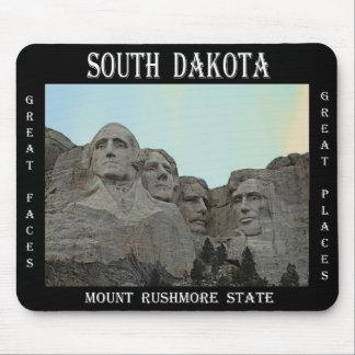 Alfombrilla De Ratón Estado de Dakota del Sur el monte Rushmore