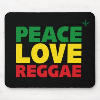 Alfombrilla De Ratón Estera del ratón del reggae