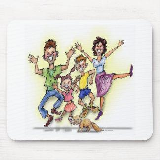 Alfombrilla De Ratón Familia feliz