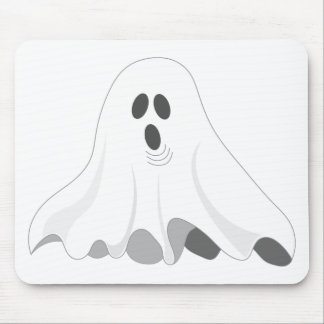 Alfombrilla De Ratón ¡Fantasma de Halloween - ABUCHEO!