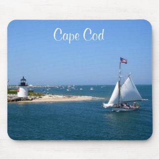 Alfombrilla De Ratón Faro y puerto Mousepad de Nantucket Cape Cod