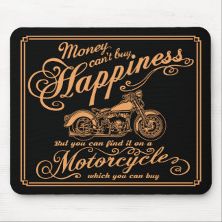 Alfombrilla De Ratón Felicidad - motocicleta