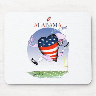 Alfombrilla De Ratón fernandes tony ruidosos y orgullosos de Alabama,