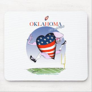 Alfombrilla De Ratón fernandes tony ruidosos y orgullosos de Oklahoma,