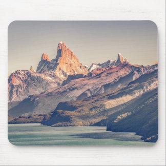 Alfombrilla De Ratón Fitz Roy y Patagonia de las montañas de Poincenot