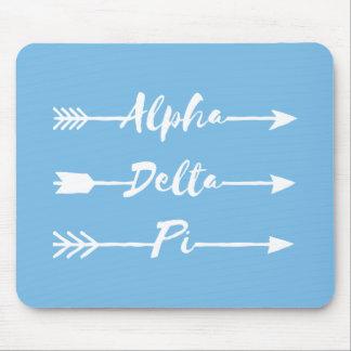 Alfombrilla De Ratón Flechas alfa del delta pi el |
