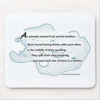 Alfombrilla De Ratón Fred la ameba - un poema de la ciencia de