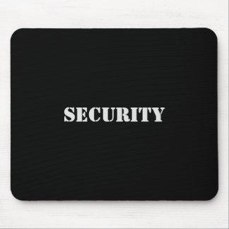 Alfombrilla De Ratón Fuente Mousepad-Blanca de la seguridad