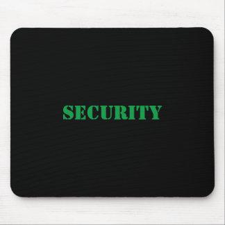 Alfombrilla De Ratón Fuente Mousepad-Verde de la seguridad