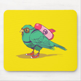 Alfombrilla De Ratón Funny bird