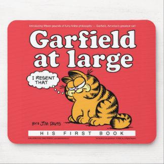 Alfombrilla De Ratón Garfield en Mousepad grande