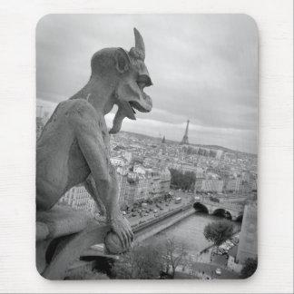 Alfombrilla De Ratón Gargoyle Mousepad de Notre Dame