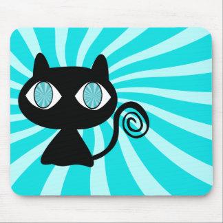 Alfombrilla De Ratón Gato de Hypno con demasiado Catnip
