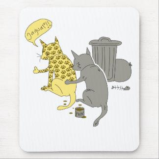 Alfombrilla De Ratón gato del jaguar