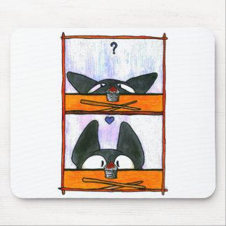Alfombrilla De Ratón ¡Gato del sushi!