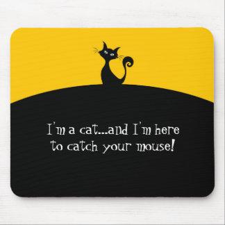 Alfombrilla De Ratón Gato para coger su cojín de ratón divertido del