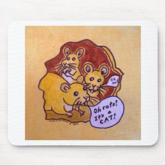 Alfombrilla De Ratón Gato y ratón