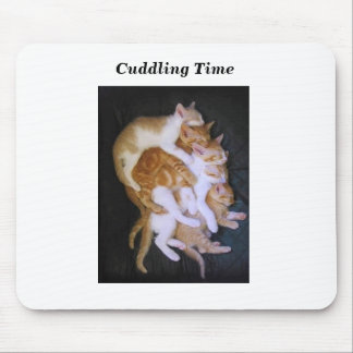 Alfombrilla De Ratón gatos de abrazo