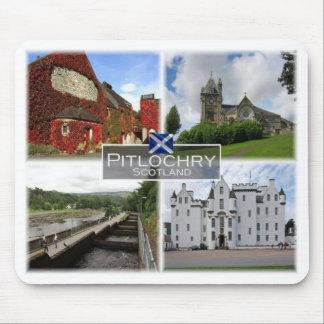 Alfombrilla De Ratón GB Reino Unido - Escocia - Pitlochry -