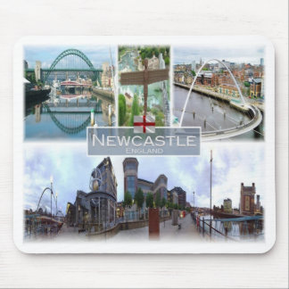 Alfombrilla De Ratón GB Reino Unido - Inglaterra - Newcastle -