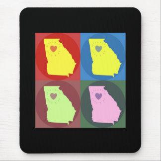Alfombrilla De Ratón Georgia hizo el amor Mousepad Atlanta del art déco