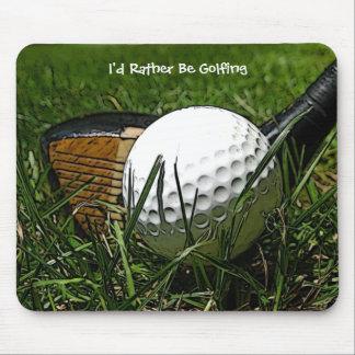 Alfombrilla De Ratón Golfing bastante Mousepad