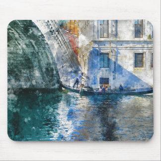 Alfombrilla De Ratón Góndola en el Gran Canal de Venecia Italia