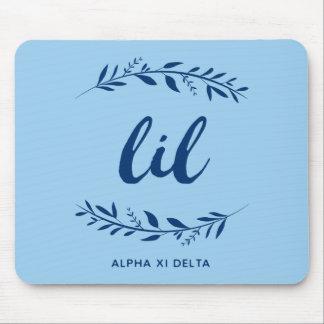 Alfombrilla De Ratón Guirnalda de Lil del delta de la alfa XI