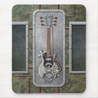 Alfombrilla De Ratón Guitarra de Steampunk