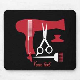 Alfombrilla De Ratón Herramientas de los peinados