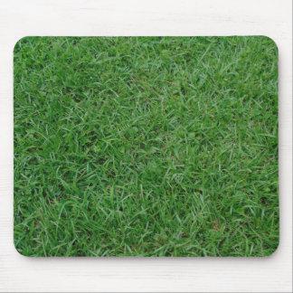 Alfombrilla De Ratón Hierba verde del verano, yarda, foto del césped