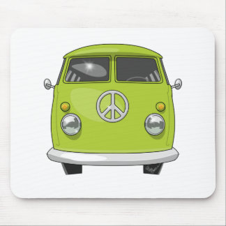 Alfombrilla De Ratón Hippie 1960 Van