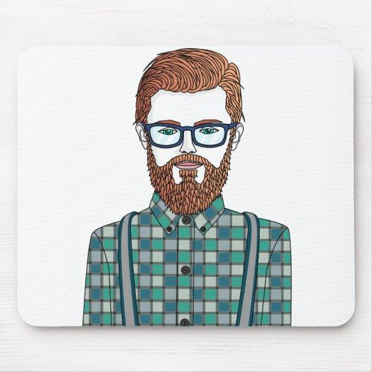 Alfombrilla De Ratón hipster