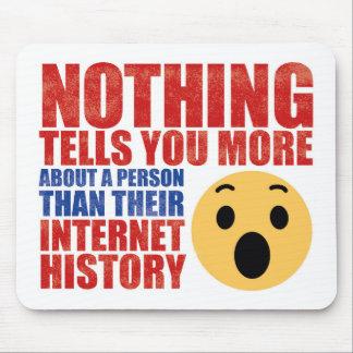 Alfombrilla De Ratón Historia MouseMat del Internet