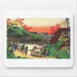 Alfombrilla De Ratón Hokusai - arte japonés - Japón