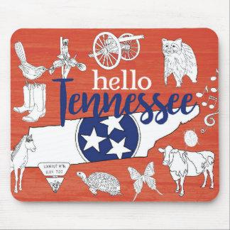 Alfombrilla De Ratón Hola Tennessee
