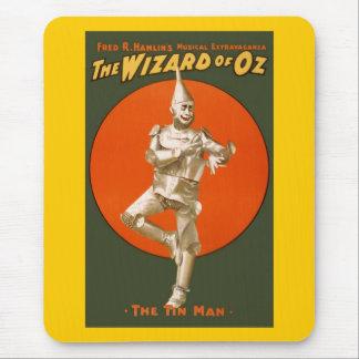 Alfombrilla De Ratón Hombre de la lata de mago de Oz - teatro musical