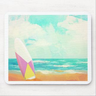 Alfombrilla De Ratón ¡Hora para practicar surf!