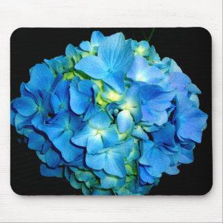 Alfombrilla De Ratón Hydrangea azul
