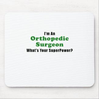 Alfombrilla De Ratón Im un cirujano ortopédico cuál es su superpotencia