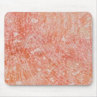 Alfombrilla De Ratón Impresión de mármol rosada