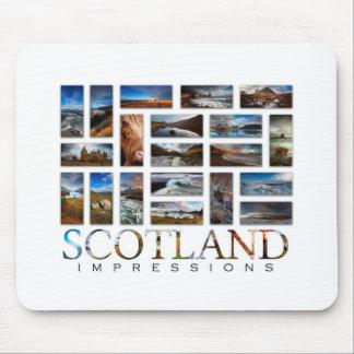 Alfombrilla De Ratón Impresiones de Escocia