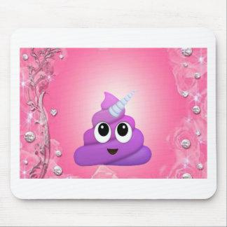 Alfombrilla De Ratón Impulso mágico personalizado Emoji del unicornio