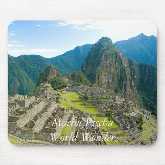 Alfombrilla De Ratón Inca citadel of Machu Picchu, Cuzco - Peru