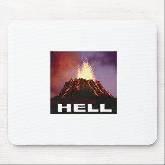 Alfombrilla De Ratón infierno del volcán