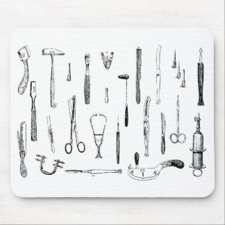 Alfombrilla De Ratón Instrumentos médicos antiguos