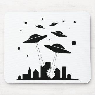 Alfombrilla De Ratón Invasión del UFO