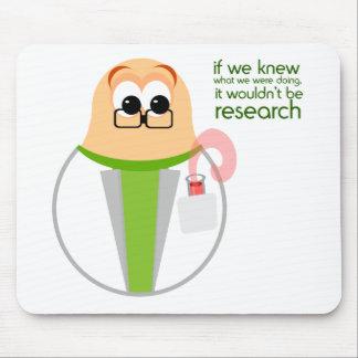 Alfombrilla De Ratón Investigador Mousepad del laboratorio de ciencia
